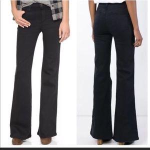 NWT current Elliott the girl crush jeans in tar